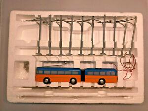 Eheim BRAWA 6108 Trolley Gliederbus  Kaiserslautern orange/blau Packung