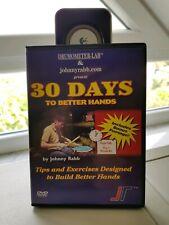 JOHNNY RABB ´30 Days To Better Hands´ DVD Schlagzeug Drum DVD
