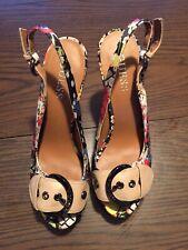 Guess Floral High Heel Stiletto Platform Shoes - Size 6M