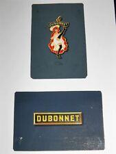 DUBONNET Projet Porte-clés Publicitaire FRENCH CANCAN GOUACHE ORIGINALE ~1960