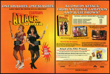 """ATTACK of the 5'2"""" WOMEN__Orig 1995 Trade print AD__National Lampoon_JULIE BROWN"""