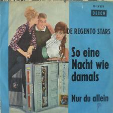 """7""""1964 RARE VG++ REGENTO STARS So eine Nacht wie damals"""