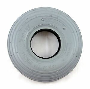 260x85 3.00-4 Grey Rib Mobility Scooter Tyre 300x4