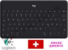 Logitech Schlüssel Zu Go UK Qwertz Bluetooth Tastatur Schwarz Für IPAD Apple TV