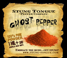 GHOST PEPPER, 1/2 OZ, Powder, Worlds hottest peppers, dried chile pepper