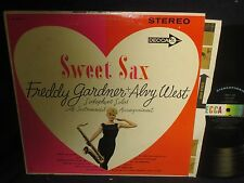 "Freddy Gardner + Alvy West ""Sweet Sax"" LP"