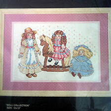 Doll Collection Bucilla Counted Cross Stitch Kit 10x15 Terrie Lee Steinmeyer