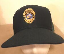 Vintage New Era Wildlife Law Enforcement Mesh Trucker Style Snapback Hat Cap