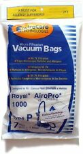 Royal AiroPro Type P Vacuum Bags 7 Pack + 1 Filter