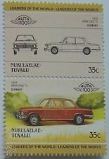 1975 BMW 2002 Tii SALOON Car Stamps (Leaders of the World / Auto 100)