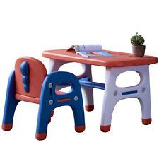 New ListingDesk Chair Table Set Kids Play Study Child Activity Furniture Toddler Dinosaur