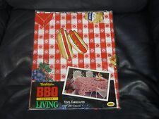 Vintage Picnic Theme Table Cloth Retro NEW
