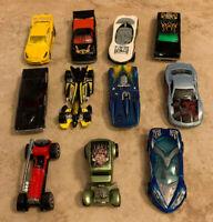 Vintage Hot Wheels 1988-2001 Toy Cars Die Cast Race Cars Mattel Lot Of 11