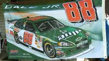 Dale Earnhardt Jr Double Sided 3'x5' flag (used) National Guard/Amp