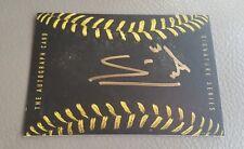 Sean Manaea  GOLD Signature Card AUTO signed Oakland A's NO HITTER
