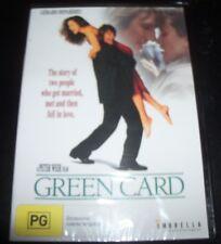 Green Card (Gérard Depardieu, Andie MacDowell) (Australia Region 4) DVD – New