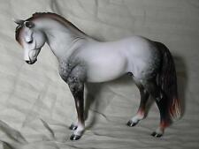 Breyer Horse Statue OOAK CM/Custom Magnum Pony Dappled Mulberry Gray