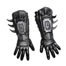 Deluxe Batman Gloves Pair Arkham Origins Adult Halloween
