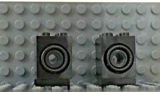 2 - Lego Technic Black Turntable 2x2x2 Side Facing Locking