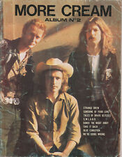 CREAM More Cream Album No. 2    UK 1960s Music Book