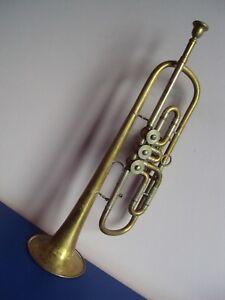 Alte Blechbläsertrompete DDR