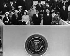 John F. Kennedy JFK Jackie Lyndon Johnson Inauguration President 8x10 Photo 029
