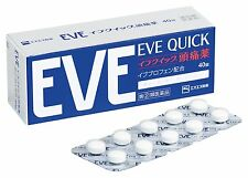 SSP EVE QUICK 40 Tablets headache relief New Japan