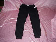 NWT $67 FWRD Denim & Co Black Tattered/Distressed Stretch Sweatpants XL W 36/42
