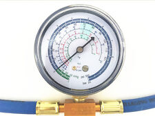 Autos Air Conditioning Refrigerant Charging Hose Pipe+can Gauge R134A to R12/R22