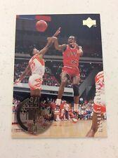 1995 Upper Deck Basketball Michael Jordan #137 84 85 Rookie Years