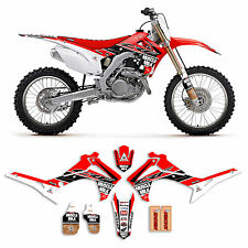 2014-2017  HONDA CRF 250 MUSCLE MILK  MOTOCROSS GRAPHICS KIT