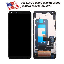 OEM LCD Touch Screen Digitizer With Frame For LG Q6 M700 M700A M700Y M700N M700H