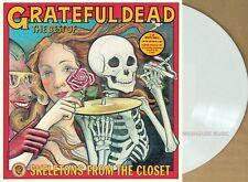 GRATEFUL DEAD LP Skeletons In The Closet Best Of WHITE Vinyl 2019 New IN STOCK