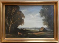 Rother at Fittleworth, Sussex. Oil by listed artist Philip Hugh Padwick RBA 1946