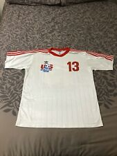 Adidas Rare USMNT 1993 Cobi Jones Jersey Mens Medium USA Soccer