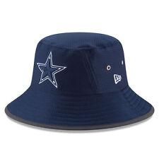 NFL Dallas Cowboys Men's New Era Navy 2017 Training Camp Official Bucket Hat