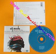 CD Compilation All Moda Selection GARBAGE MOBY GROOVE ARMADA KELIS no lp mc(C0)