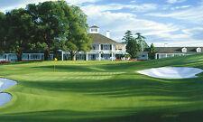 """The 18th Hole Holly Augusta National Golf Course"" Linda Hartough 20"" Canvas"