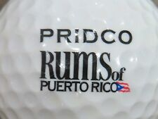 (1) Pridco Rums Of Puerto Rico Alcohol Logo Golf Ball
