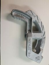 Greenlee Conduit Bender Head,3/4 Emt,1/2 Rigid, 841 Used In Good Condition