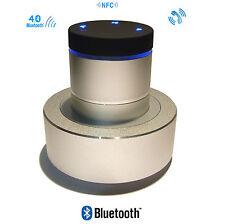 HP Enceinte Vibrante Bluetooth NFC 26W ADIN S8 sans fil Argent smartphone Iphone