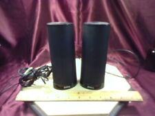 "Dell Computer Speaker AX210 PC Laptop 2 Speakers-USB Powered-Black-7"" Tall-F/Shp"