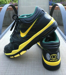 2010 Nike Oregon Ducks Trainer 1.2 SAMPLE Team Player Issued Shoes PE SZ 10.5