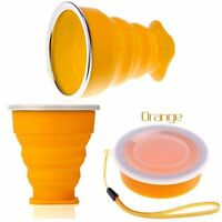Outdoor Folding Telescopic Tool Tea Water Silicone Travel Cup Collapsible