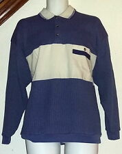 Envoy Vintage 70's-80's Collared Pullover Shirt w/Pocket Mens Large