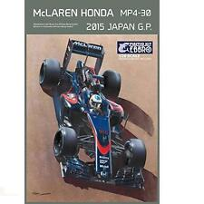 McLaren Honda mp4-30 2015 JAPAN GP 1/20 Modello Kit EBBRO 20015