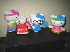 "4 RARE HTF HELLO KITTY COLLECTABLE FIGURE'S  LOT , "" SOLD AS IS """