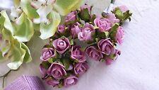 144 Rosen pink flieder  Hochzeit Tischdeko Kommunion Taufe flieder