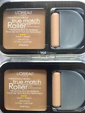 3 X L'Oreal True Match Roller Perfecting Roll On Makeup NATURAL BEIGE #W4 NEW.