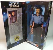 STAR WARS : THE EMPIRE STRIKES BACK : LANDO CALRISSIAN BOXED ACTION FIGURE